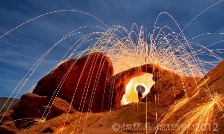 Photography Contest Grand Prize Winner - January 2012: Fire In The Hole