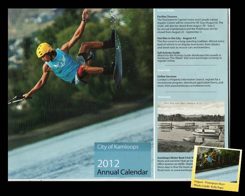 City of Kamloops Calendar - ID: 12698794 © Kelly Pape