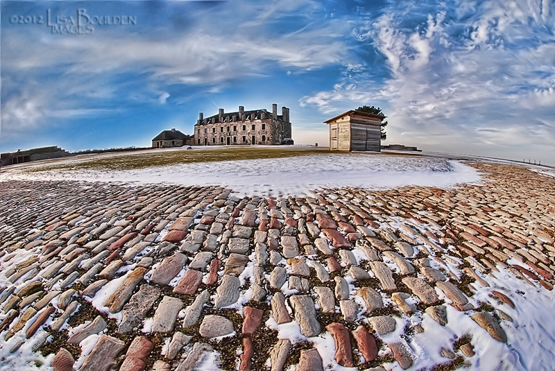 Fort Niagara in Winter