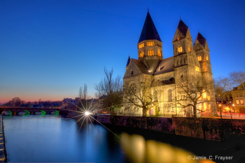 Protestant Temple Neuf in Metz, France