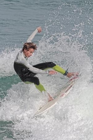 New Smyrna Surfer