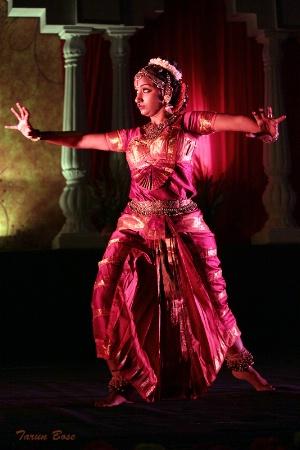 Kuchipudi Dancer.