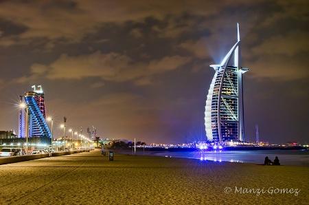 Evening at Jumeirah Beach