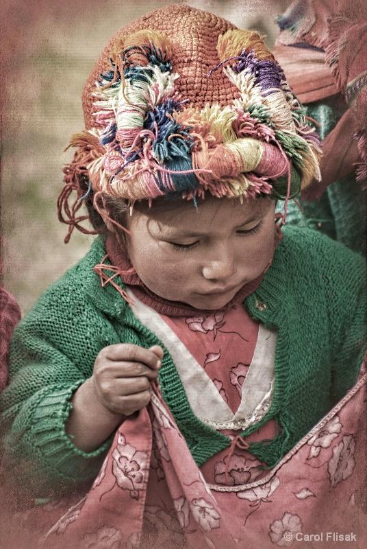 Peruvian Child - ID: 12748800 © Carol Flisak