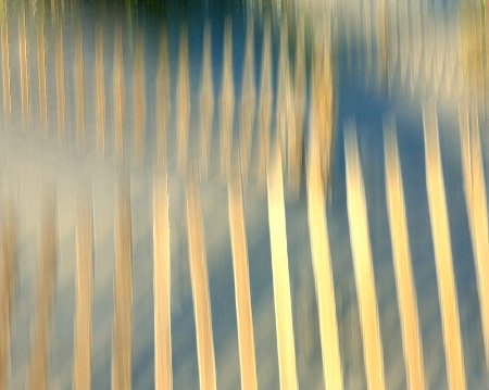 Three Fence Abstract
