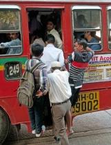 INDIA5513/ Whats the rush?