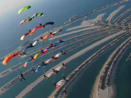 Soaring High Over Dubai