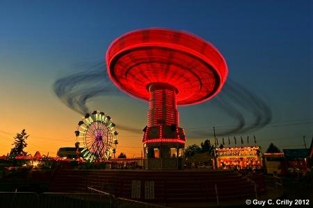 Puyallup Fair Ride
