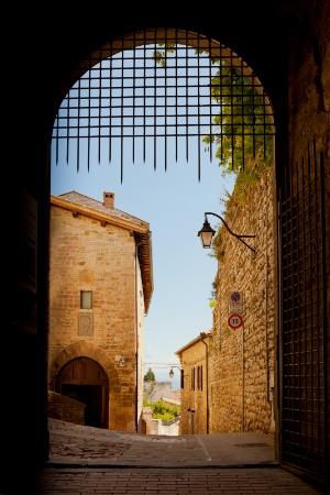 Portcullis, Gubbio Italy
