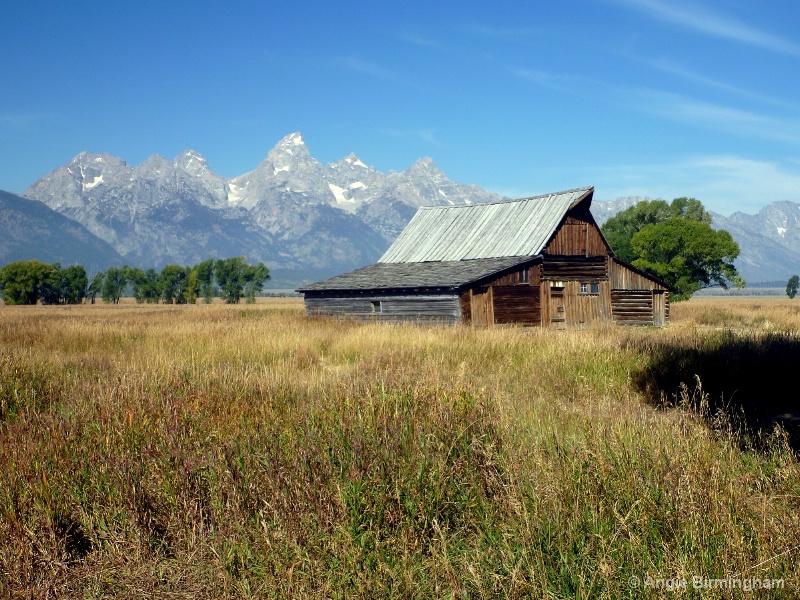 Teton Mountain range.