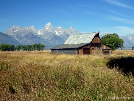 Teton Mountain range.