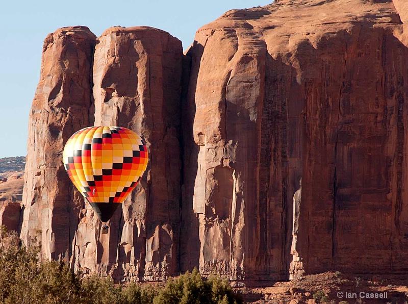 Monument Valley Balloon Launch