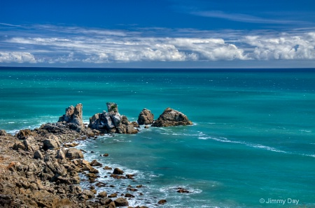 Turanga Bay, New Zealand