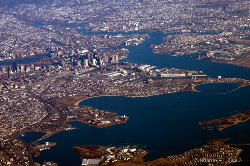 Boston By Air - ID: 12781983 © Sharon E. Lowe