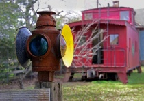 Antique Train Signal