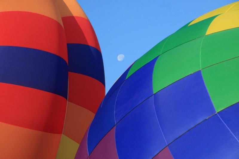 A Moon Among Balloons