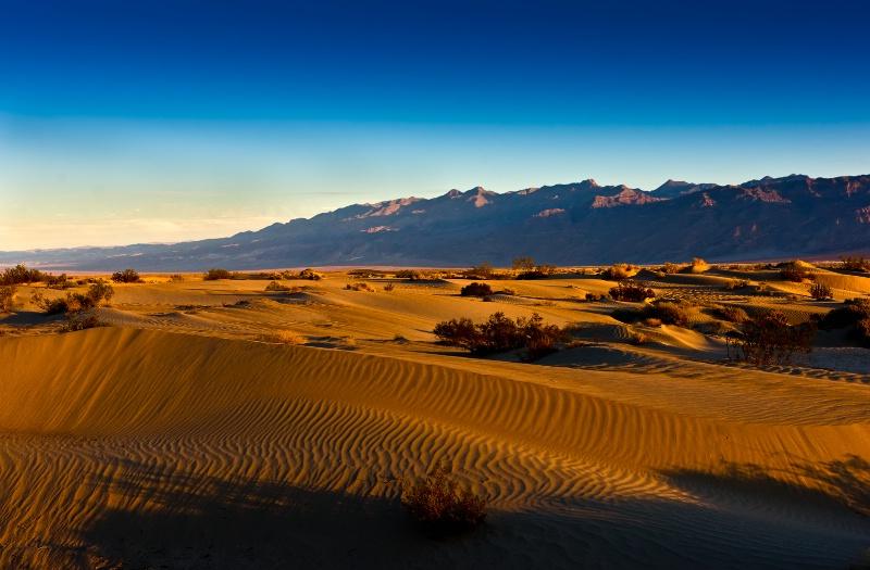 Death Valley sand - ID: 12786816 © William G. Dunlalp