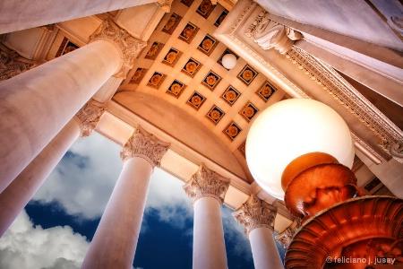 Capitol Entrance, Charleston, W. Virginia