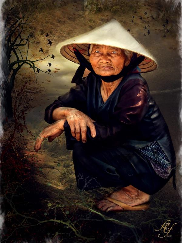 Lady in Vietnam