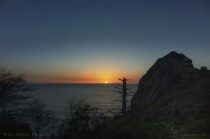 Sunset at Lookout Rock