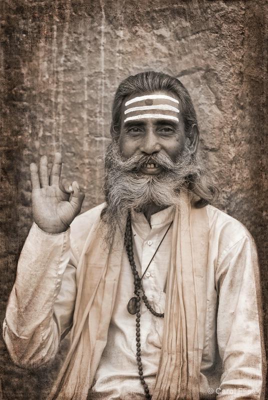Kathmandu Sadhu - ID: 12799882 © Carol Flisak