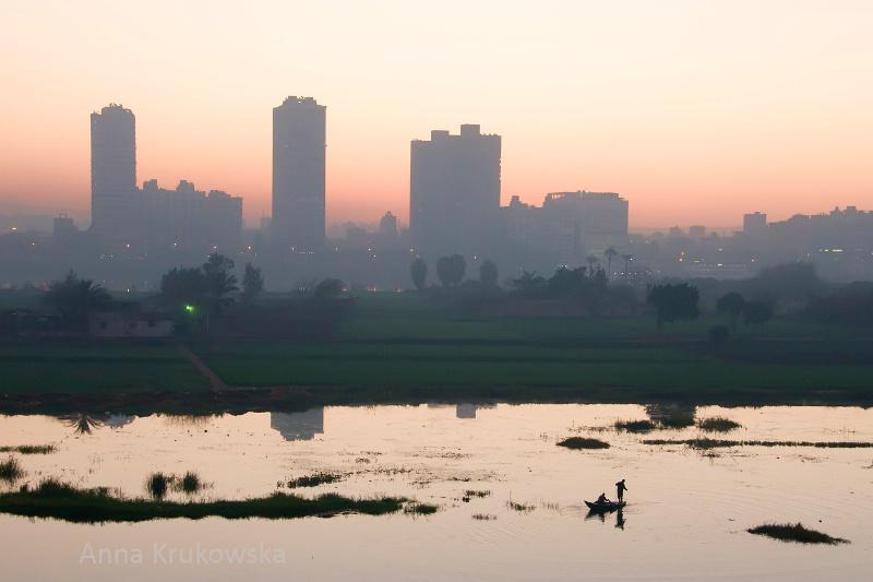 Quiet morning in Cairo