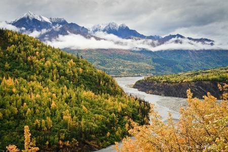 Matanuska River Bend