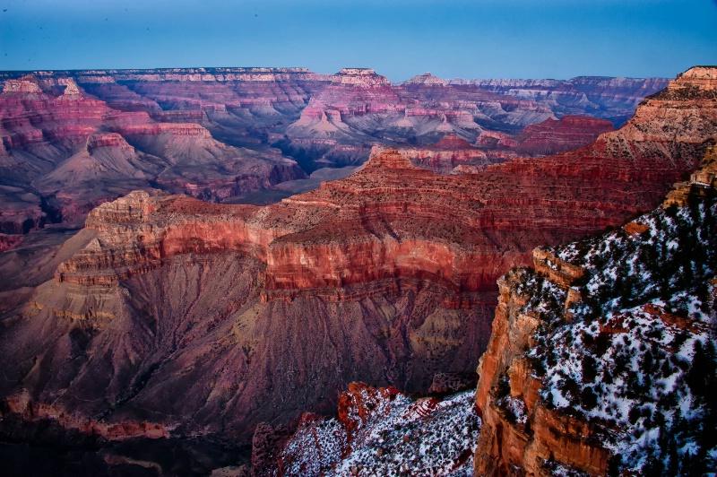 Sunset in the Grand Canyon - ID: 12810416 © Gloria Matyszyk