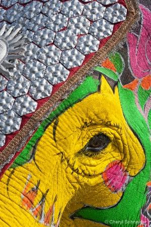 Painted Elephant 001