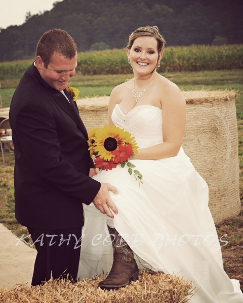 122 vintage brooke and michael ceremony - ID: 12839016 © Kathy Cobb