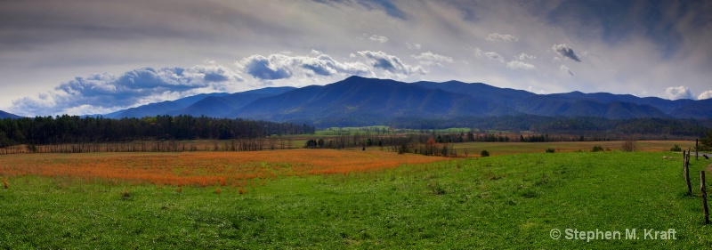Cades Cove Spring Clouds
