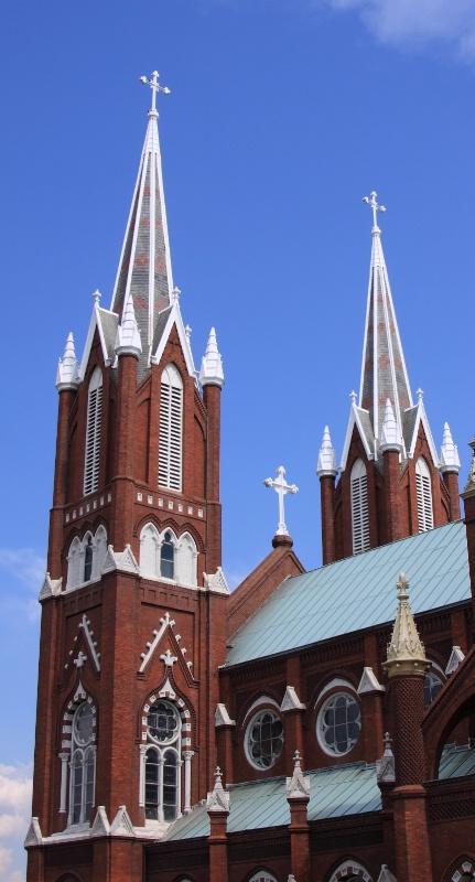 Twin Spires, St. Joseph Catholic Church