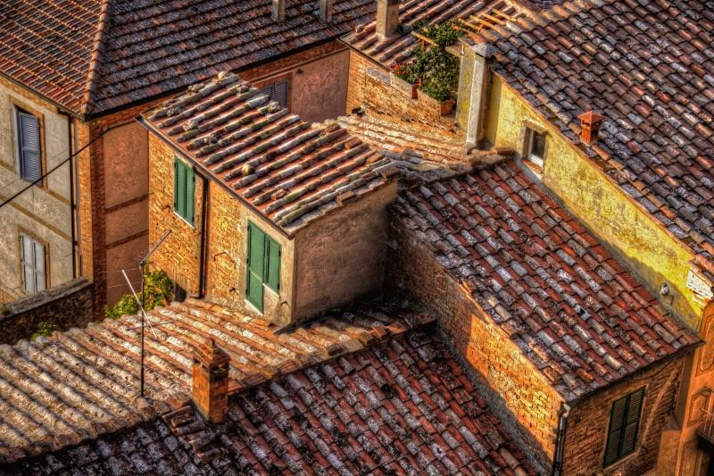 Montepulciano Rooftops