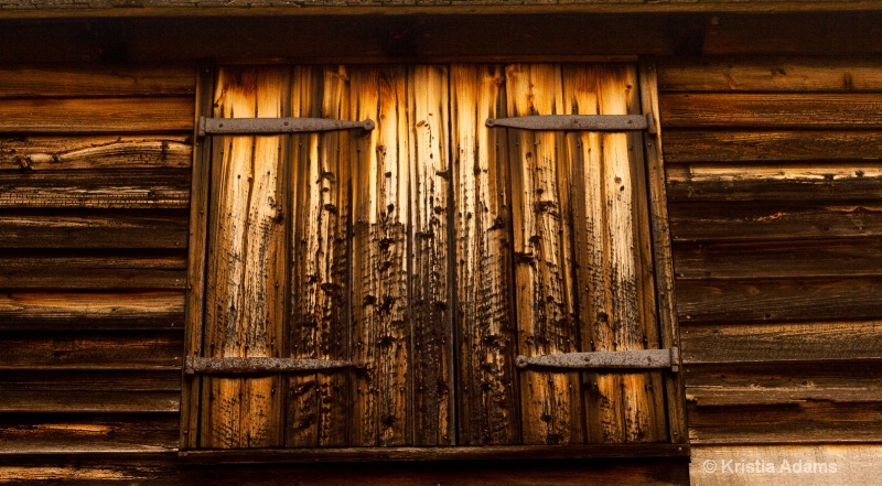 Barn Loft Door
