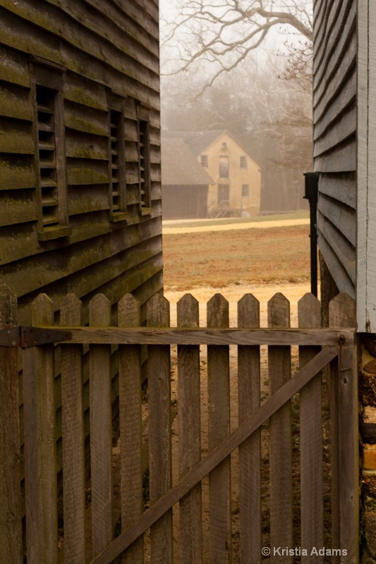 Gristmill Through the Gate