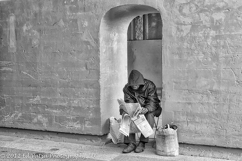 Homeless in Chelsea