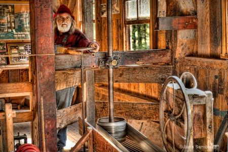 Running the Cedar Creek Grist Mill