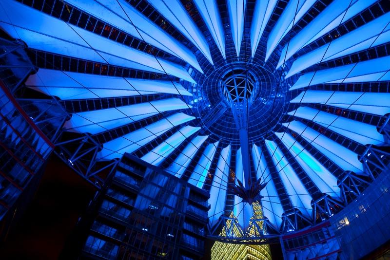 Berlin in Blue