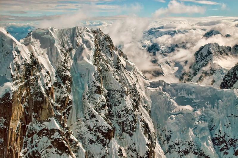 In the Central Alaska Range