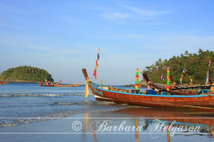 Longtail boats, Thailand.