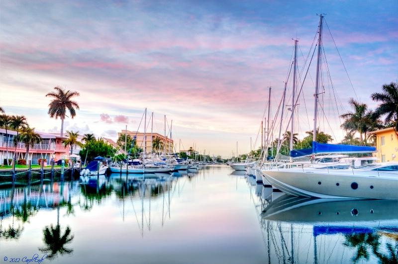 Ft. Lauderdale Canal - ID: 12874977 © Carol Eade
