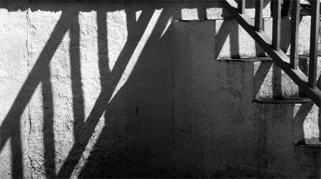 Stairs and shadow