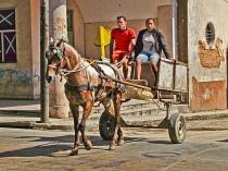 Havana Street Scene (Cuba)