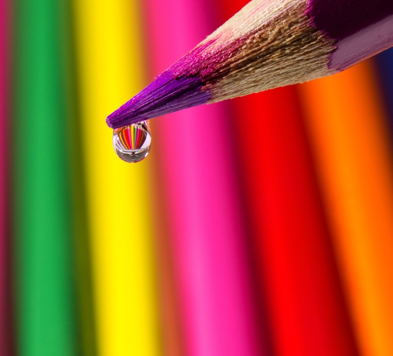 Pencil Drop