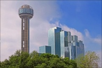 ~ TOWERING ABOVE DALLAS ~