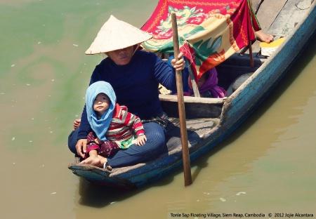 Tonle Sap Floating Villagers