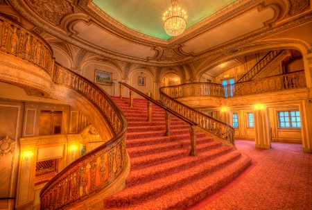 Chicago Theater Stairs