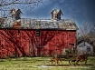Early Ohio Barn