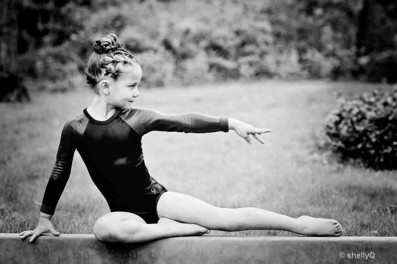 CaliQ 6yr old gymnast- Accalia Quintana