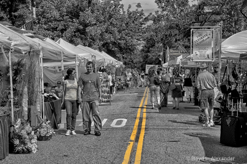 Craft Show on Mill Street